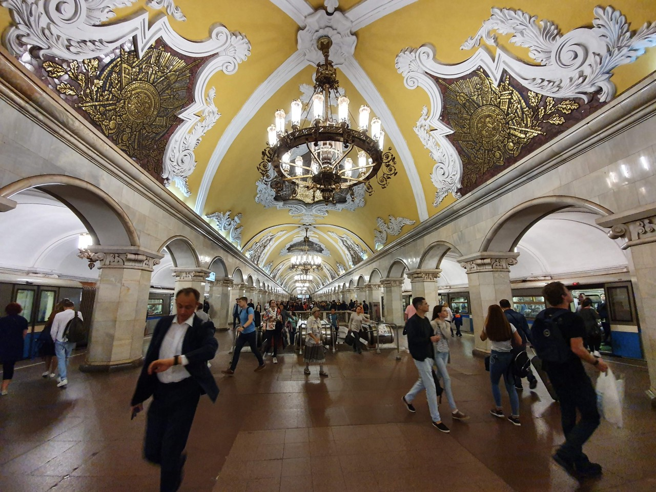 Day 9: Going Underground! Exploring Moscow by Metro