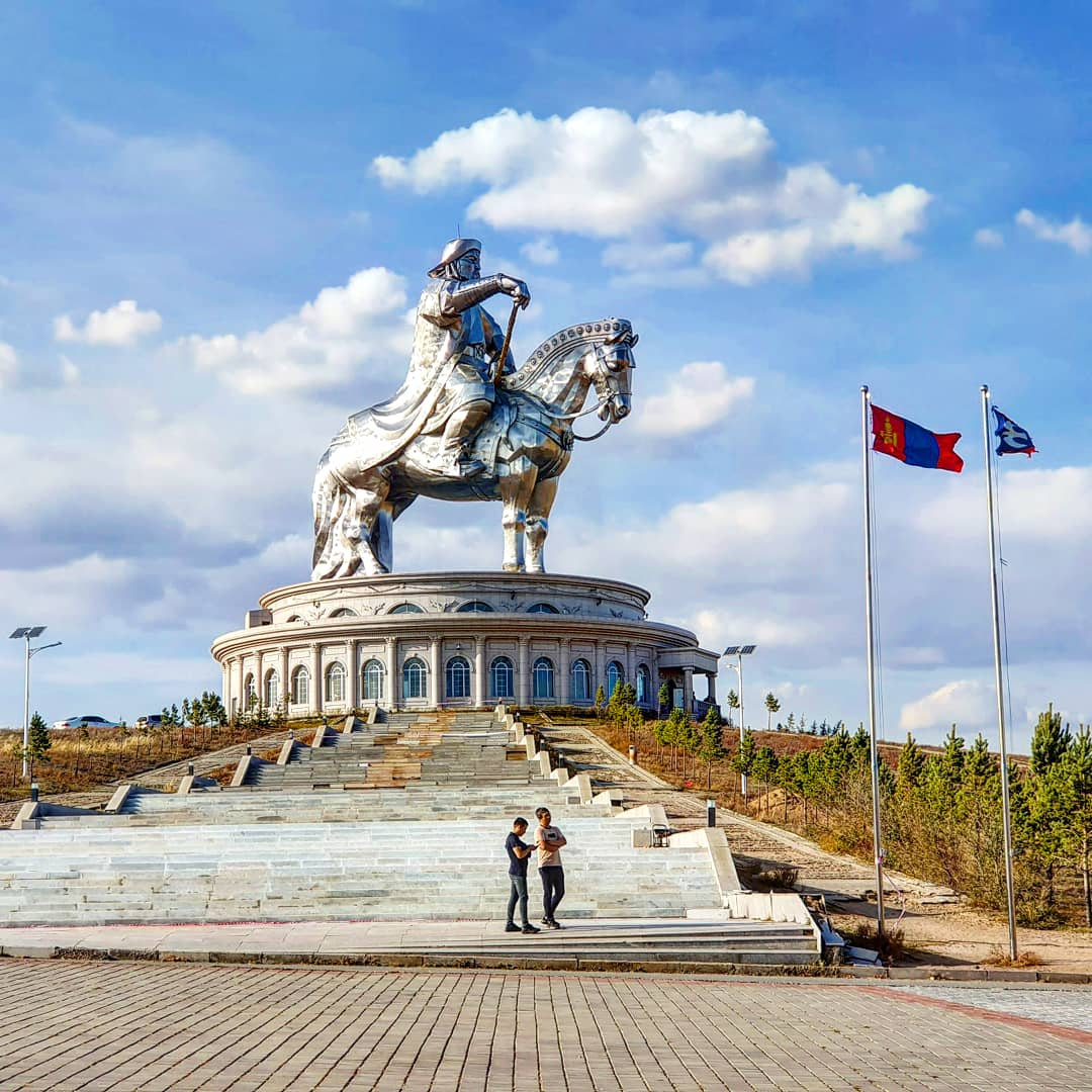 Day 26 (Part 2): The World's Biggest Statue of Chinggis Khaan