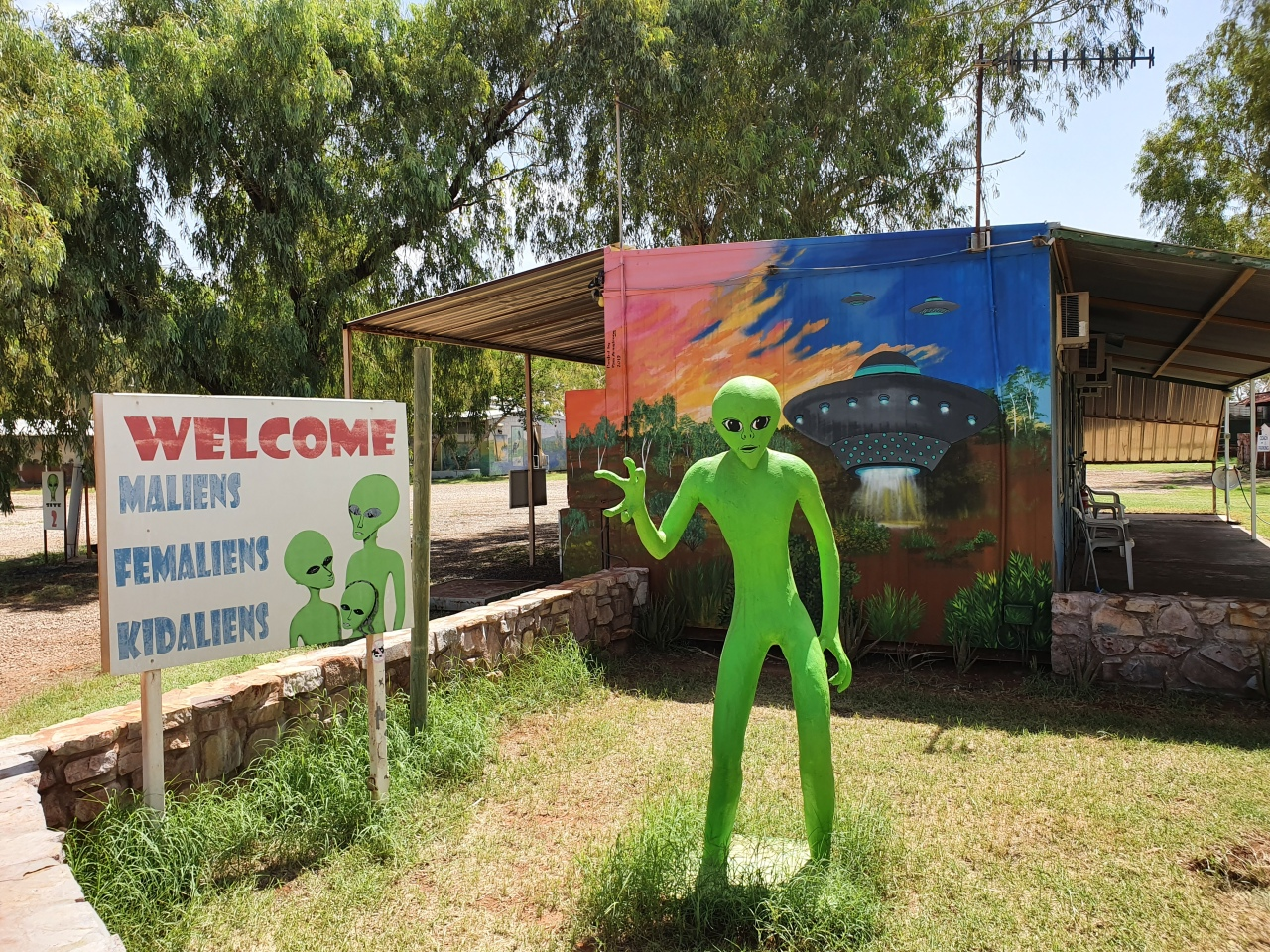 Day 164: Way Outback… withaliens