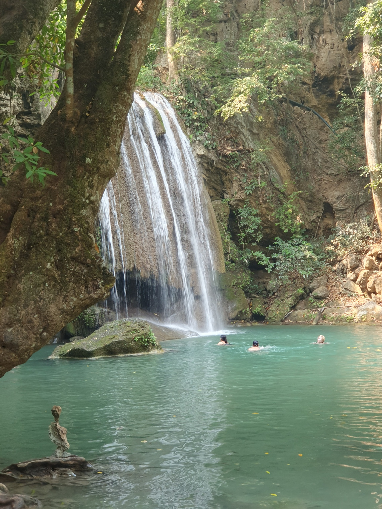 Day 200: Erawan Waterfalls and more coronavirus observations